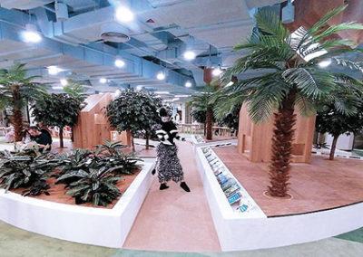 Lederen vloer ABU DHABI, VAE cultural foundation 4