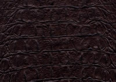 SOFT TOUCH Croco Dark-Brown lederen vloeren en lederen wanden