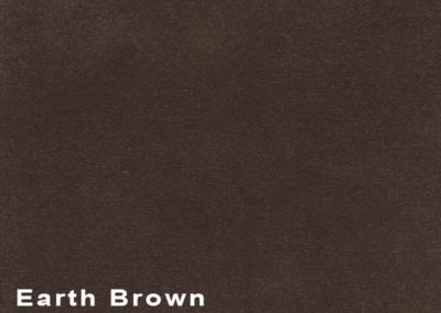 SUÈDE Earth Brown lederen vloeren en lederen wanden