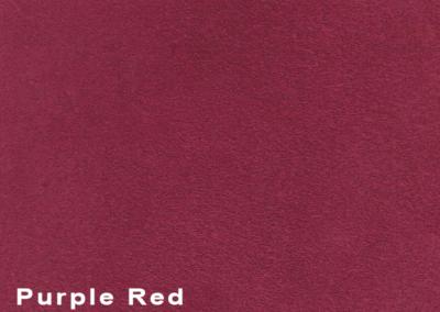 SUÈDE Purple Red lederen vloeren en lederen wanden