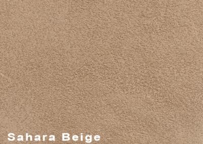 SUÈDE Sahara Beige lederen vloeren en lederen wanden