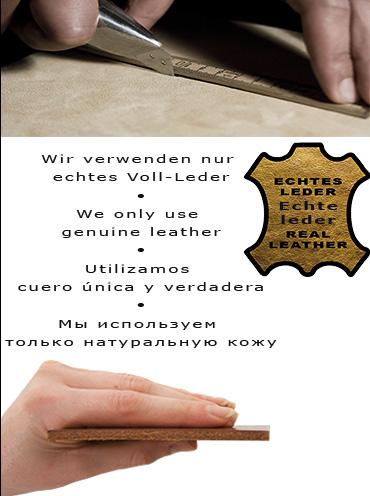 we use genuine leather