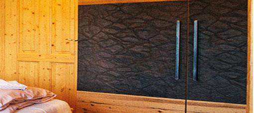 VINTAGE lederen vloer blue graphite 1